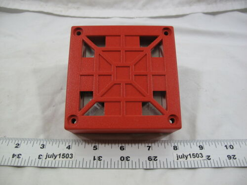 (1) Used Wheelock 34T-24 Fire Alarm Audible Device 24VDC .063A