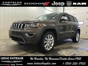 2017 Jeep Grand Cherokee Limited 4x4 LEATHER HEATED SEATS TRAILE