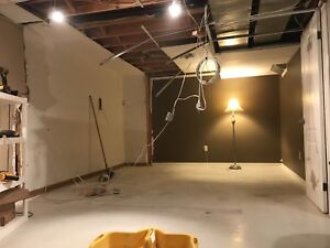 12x20 room needs drop ceiling installed and trimmed