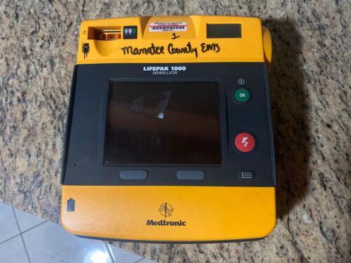 Physio Control Lifepak 1000 AED Parts READ DESCRIPTION