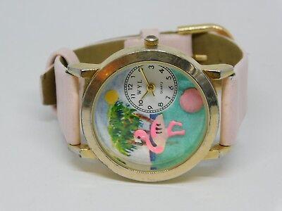 WYL Flamingo Quartz Analog Ladies Watch