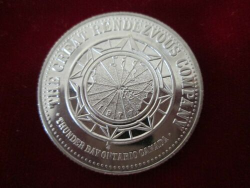 1977 SOUVENIR GOOD FOR $1 TOKEN - GREAT CANADIAN RENDEZVOUS - OLD FORT WILLIAM