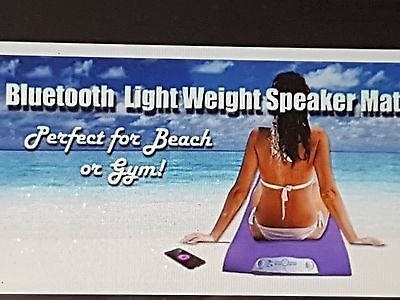 Yoga/Beach Mat Bluetooth{ Lavender}