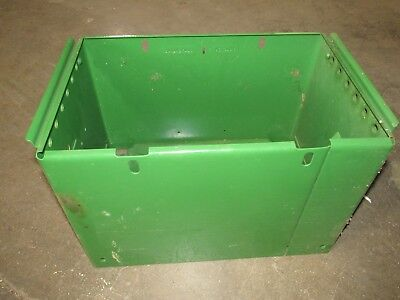 Nos Aa7337r Battery Box And Hold Down Aa7337r John Deere 50 60 520 530 620 630
