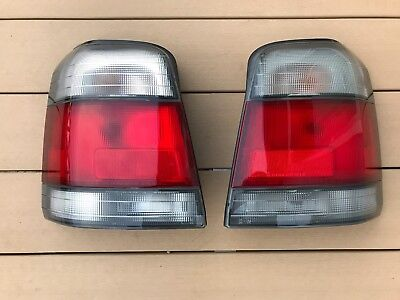 JDM 97-02 Subaru Forester SF5 STI Tail Lights Taillights Lamps Set OEM