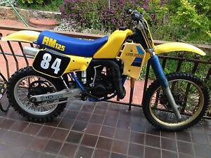 1984 RM125  VMX Canberra City North Canberra Preview