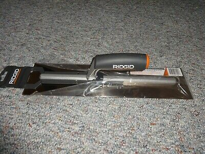 Ridgid 16 In. X 4 In. Stainless Steel Cement Finishing Trowel Cm3002 New
