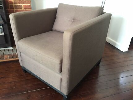 2 x Bedroom arm chairs