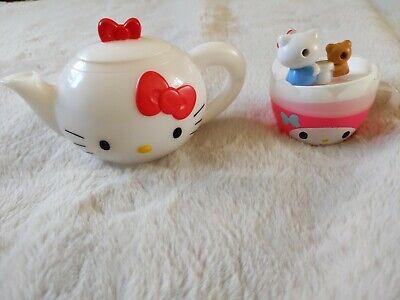 Hello Kitty tea set **rarely available in UK **