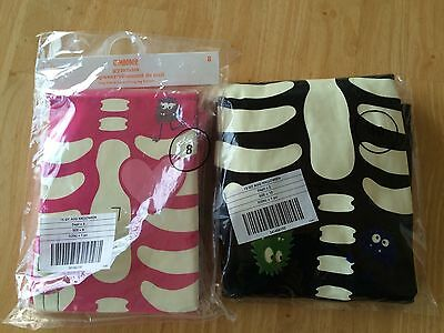 NWT Gymboree Halloween SKELETON Pajama Gymmies Costume Glow In The Dark 2015](Skeleton Pajamas)