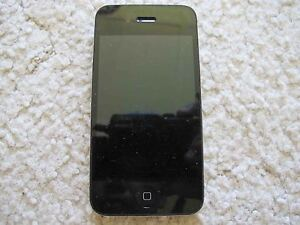 Apple iPhone 4 32GB Black Officially Unlocked Bit Faulty
