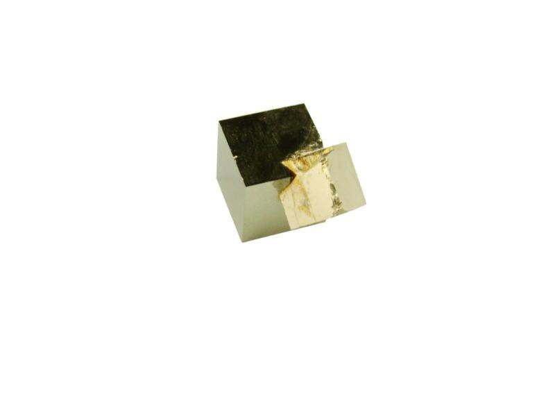 Navajun Spain Mine - Pyrite Cube Crystal With Display Case-#PC14