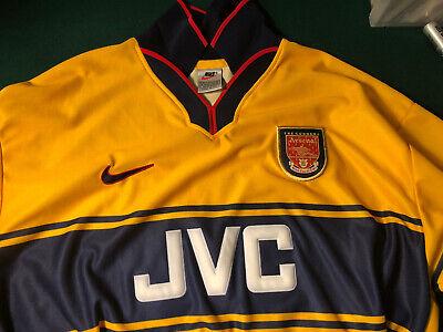 Arsenal Shirt 1997 1999 Away Size XL Jersey Nike Trikot Football Soccer ig93 image