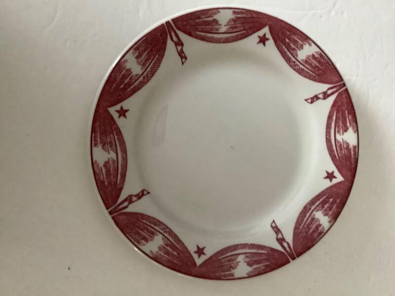1939 NYWF Toffenetti Restaurant Plate Artifact Rare
