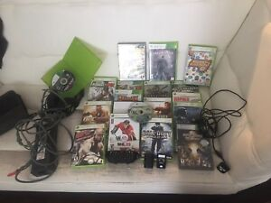 Xbox 360 games an turtle beach headset