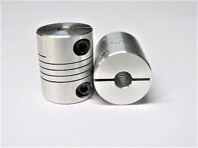 5mm X 6mm Flexible Coupler - Cnc Stepper Motor Shaft Coupling