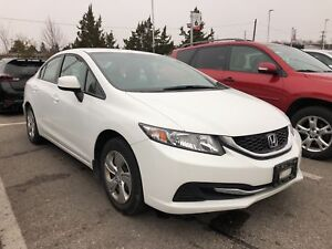 2013 Honda Civic LX|ACCIDENT FREE|1 OWNER|BTOOTH|HEATED SEAT