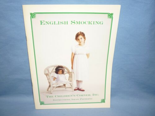 English Smocking Pattern Instruction Book Childrens Corner