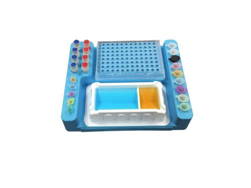 PCR Rack For PCR Tube, PCR Strip, 96 Well PCR Plates, PCR Setup Cool Station