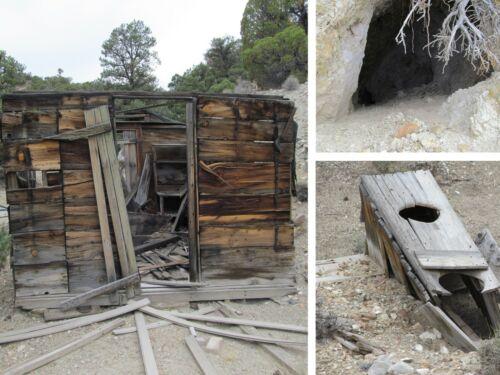 Nevada Gold Silver Gem Mine Lode Mining Claim Adit Shaft Cabin Au Ag Palmetto
