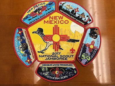 2017 National Jamboree Patch Set Conquistador Council-Roswell NM
