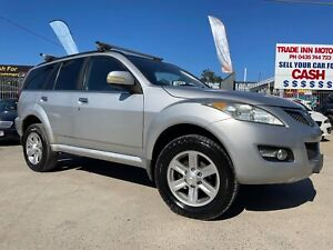 *** 2012 GREAT WALL X240 *** 4 X4 WAGON *** ONLY 100,000 KMS ***