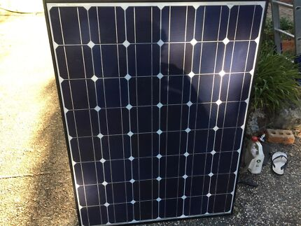 Sharp solar panels and inverter poly panels