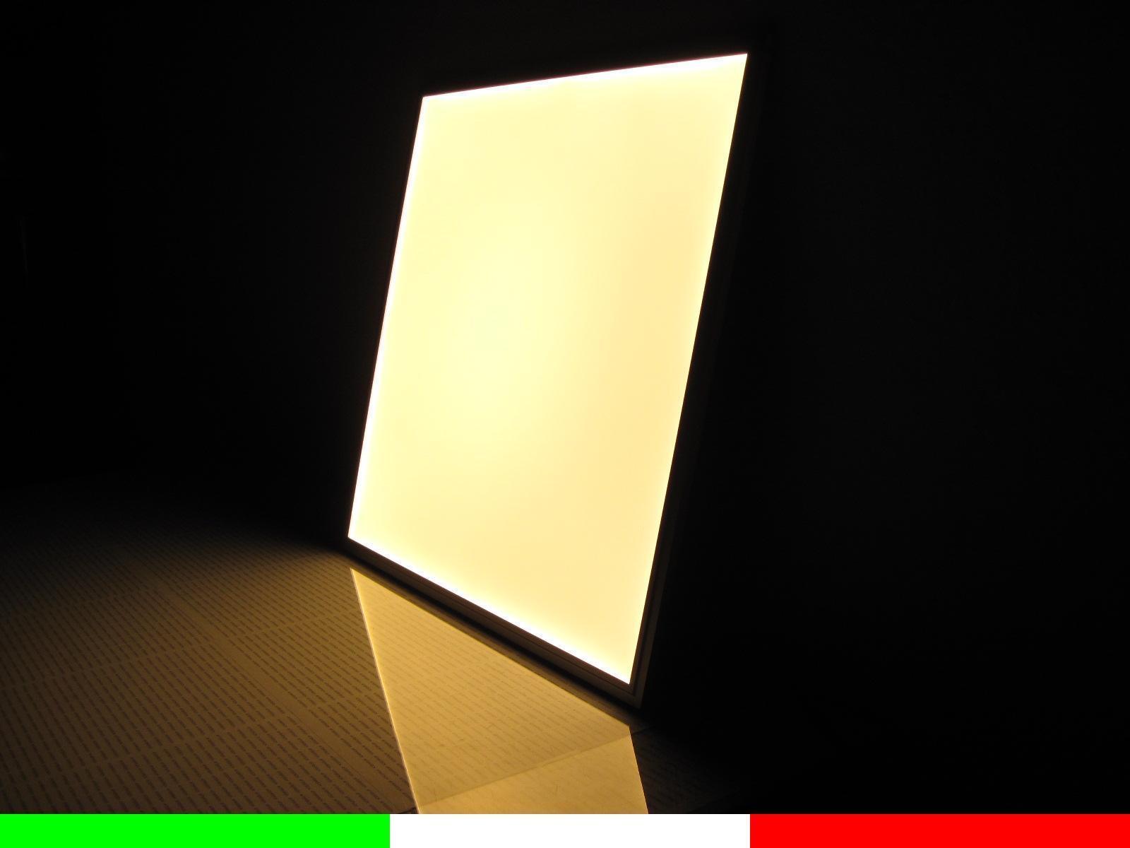 Plafoniera Led Luce Fredda : Pannello plafoniera led 42w 60x60 cm lampada soffitto bianco caldo