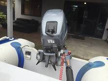 3.5 MTR QUICKSILVER INFLATABLE AND YAMAHA 15HP OUTBOARD Safety Beach Mornington Peninsula Preview