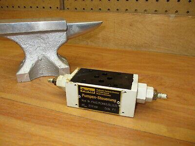 Parker Pvac2pcmnsjdlj520 Hydraulic Valve Nice Pumpen-steuerung