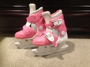 Girls adjustable skates-size 6j-9j