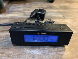 Sony Dream Machine ICF-C707 FM/AM Digital Clock Radio Nature Sounds TESTED HGR1