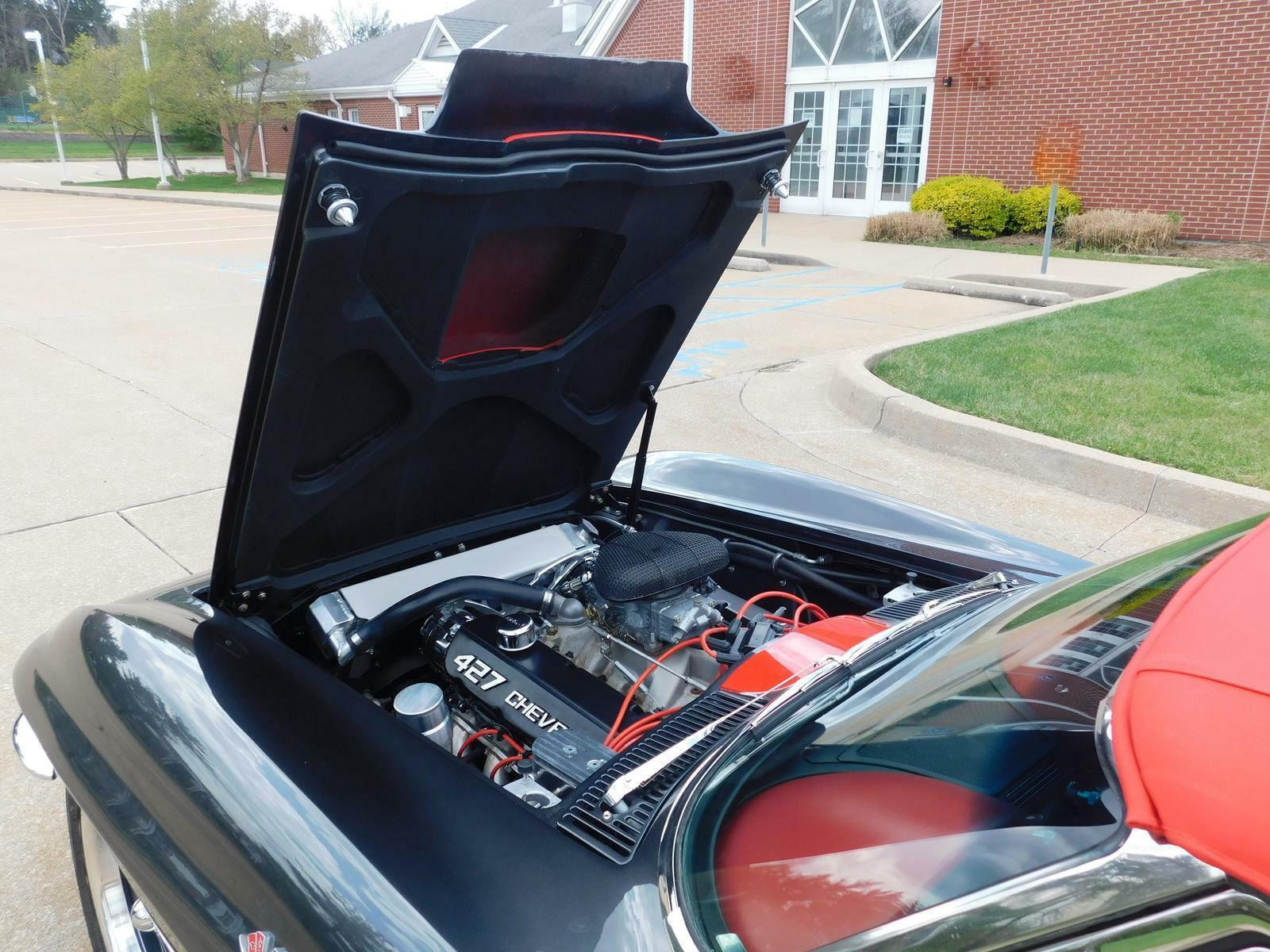 1966 Gray Chevrolet Corvette     C2 Corvette Photo 9