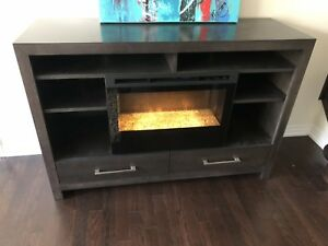 Buhler Fireplace Media Console