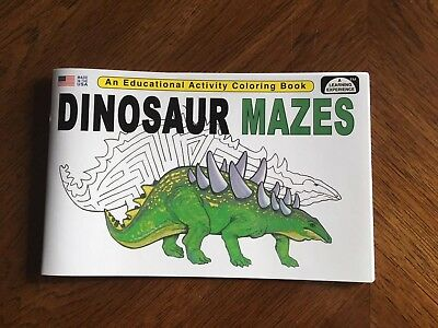 Dinosaur Mazes - Educational Read Color Book For - Kids Maze