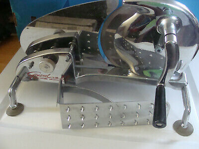 Vintage General Meat Slicer Hand Cranked Slicing Machine Model 420