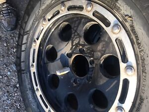 4 F-150 rims and tires