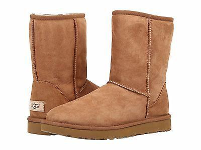 (Women's Shoes UGG Classic Short II Boots 1016223 Chestnut 5 6 7 8 9 10 11 *New*)