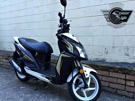 SYM Jet4R Naked 50cc Scooter - $1,790 (Includes On Road Costs) Noosaville Noosa Area Preview