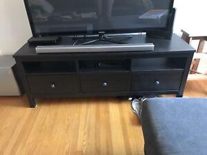 Ikea HEMNES Tv bench black/brown