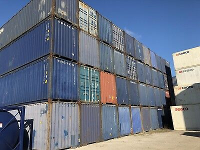 Used Standard Height Shipping Containers 40ft
