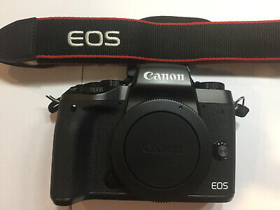 Canon EOS M5 24.2MP Digital Camera - Black (Body Only)  - Free Priority Ship USA