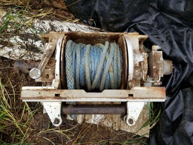 Braden Hydraulic Winch