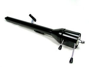 1120680051 IDIDIT Chevy Camaro Floor Shift Black Powder Coated Steering Column
