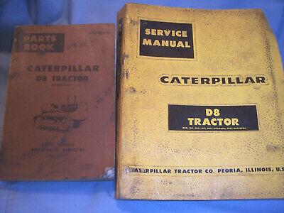 Caterpillar D8 Crawler Bulldozer Tractor Maintenance Service Shop Repair Parts