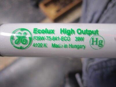 (39) GE F39T5/841/ECO Fluorescent Tube Lamp  Bulb 39W 4100K Cool White 34