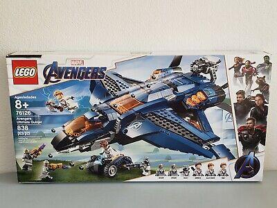 Lego Marvel Avengers #76126 Avengers Ultimate Quinjet 838 pcs Brand New