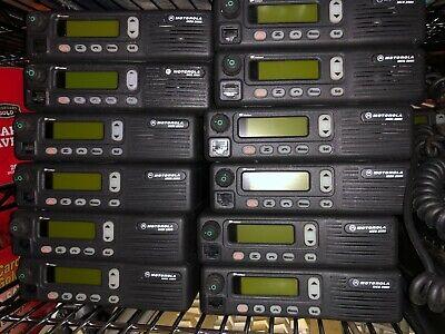 Lot Of 5x Motorola Mcs2000 800 Mhz Two Way Radio M01hx 812w