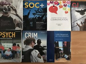 First Year Justice Studies Books-Loyalist College