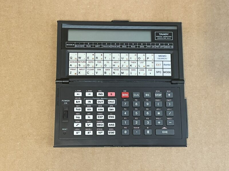 Tandy Pocket Scientific Computer PC-6